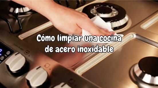Cómo limpiar una cocina de acero inoxidable