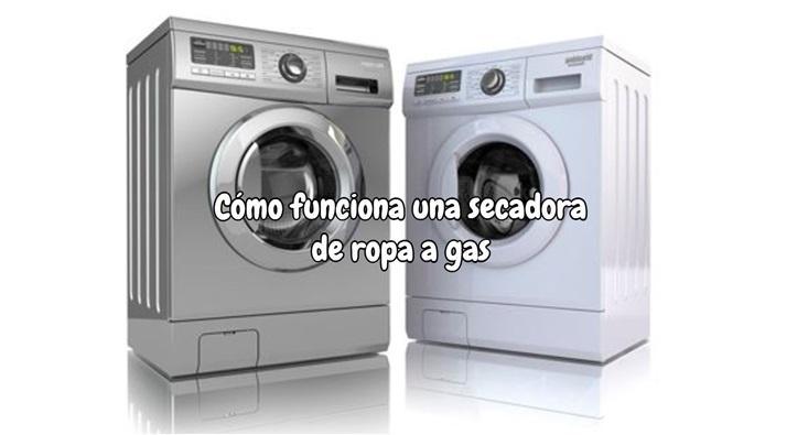 Como funciona una secadora de ropa de gas