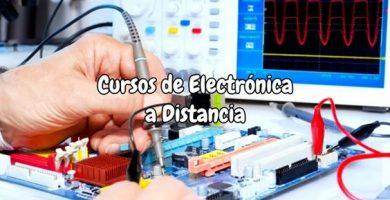 Cursos de Electrónica a Distancia