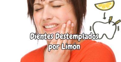 Dientes Destemplados por Limón