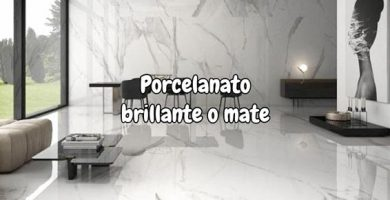 Porcelanato brillante o mate