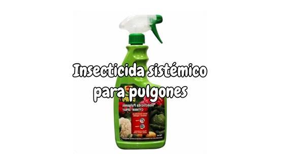 insecticida sistémico para pulgones